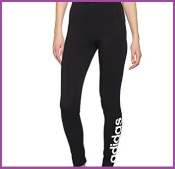 Pantaloni sportivi donna adidas aderenti
