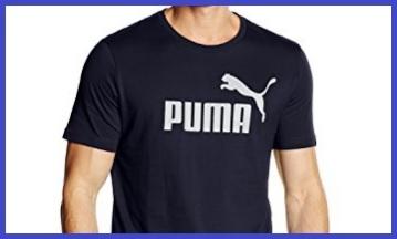 T shirt uomo sportive cotone puma