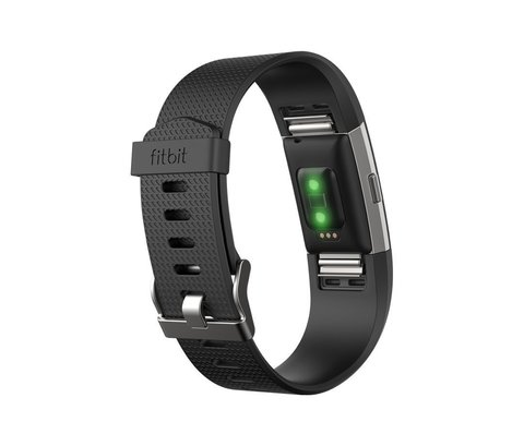 Fitbit Charge 2 Braccialetto Moderno Fitness