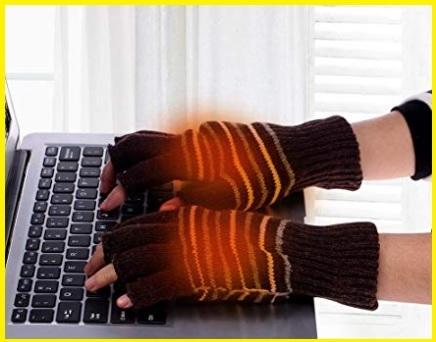 Abbigliamento guanti riscaldato usb