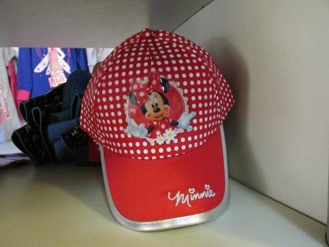 Cappellino colorato per bambina minnie