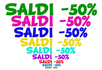 Saldi, Saldi,saldi, Tutto L'abbigliamento - 50% - 60% -70%