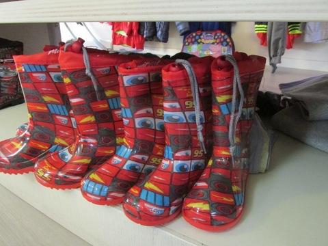 Stivali per la pioggia da bambino