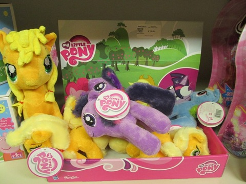 Peluches dei cavallini magici little pony