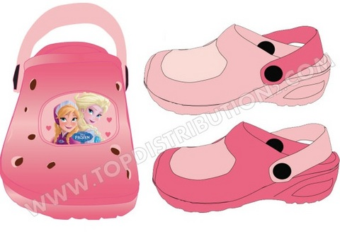 Le originali crocs di frozen