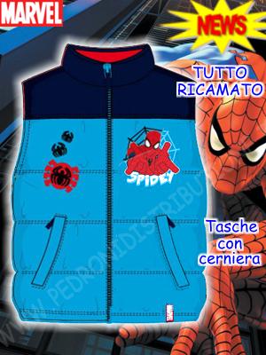 Abbigliamento vario di spiderman
