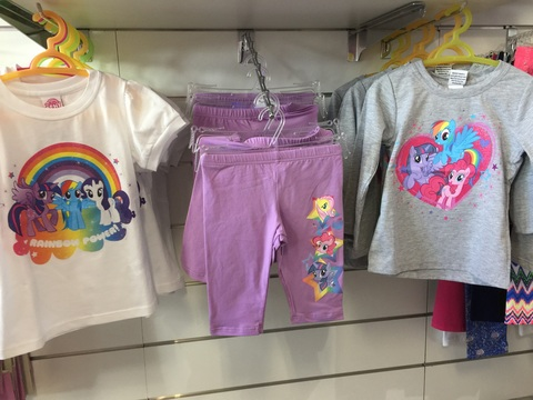 Completi lotte pony abbigliamento vario
