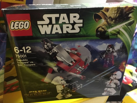 Costruzioni lego star wars
