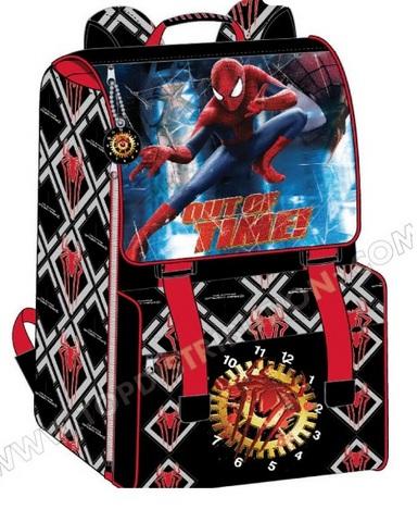 Zaino scuola e asilo di spiderman
