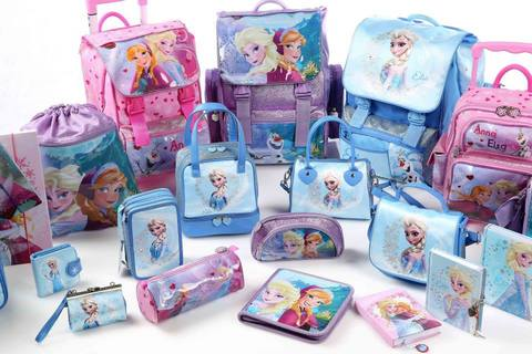 New collection special frozen zaino e scuola