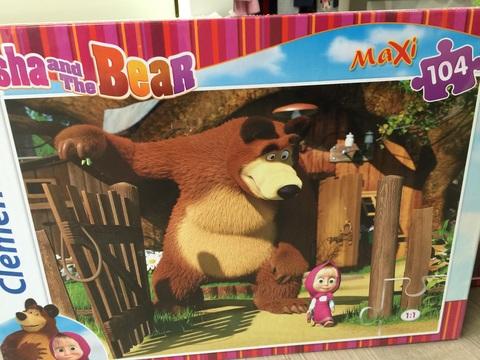 Puzzle di masha e orso