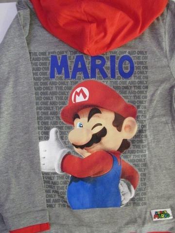 Felpa Con Cappuccio Leggera Super Mario