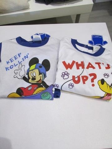 Magliette leggere di topolino e paperino