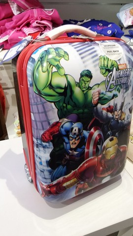 Trolley rigido marvel avengers