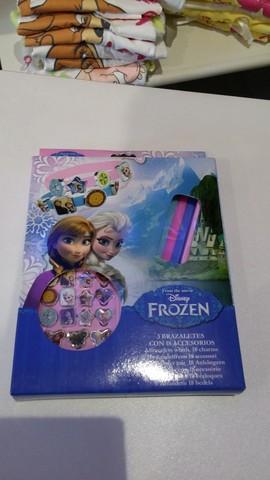Crea il tuo braccialetto con frozen