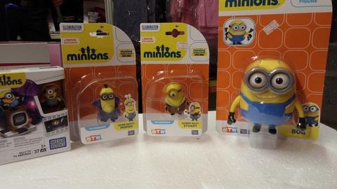 Collezione miniature dei minions