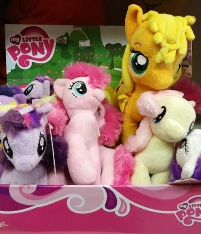 Pupazzi tenere di my little pony
