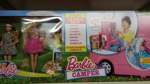 Barbie e il camper