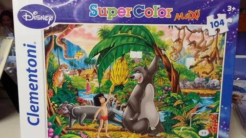 Puzzle clementoni mowgli il libro della giungla