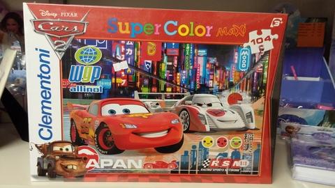 Puzzle clementoni di cars