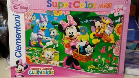 Puzzle clementoni mickey mouse e amici