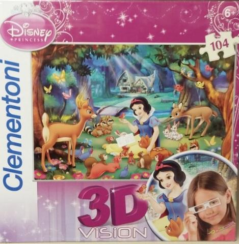 Puzzle clementoni cenerentola 3d