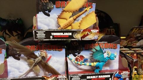 I draghi di dragon trainer