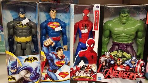 Divertiti con i tuoi supereroi preferiti