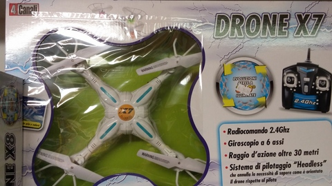 Drone x7 radiocomandato