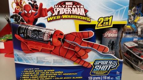 Lancia colpi di spider man