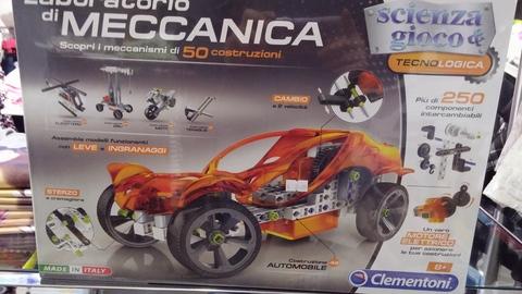 Meccano: costruisci macchine, moto e costruzioni