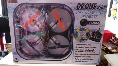 Drone 360° con videocamera integrata