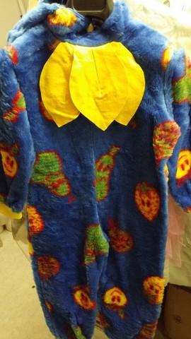 Costume colorato per carnevale