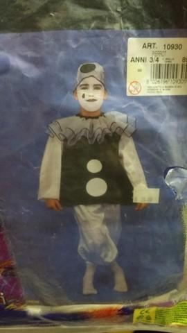 Costume da clown per carnevale