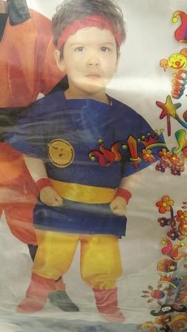 Costume di carnevale guerriero