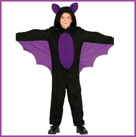 Costume per bambini e bambine da pipistrello