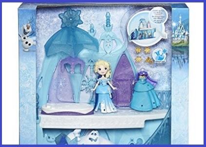 Frozen giocattoli palazzo di ghiaccio