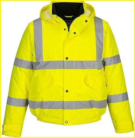 Abbigliamento da lavoro uomo alta visibilità