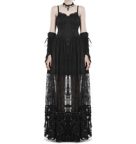 Vestito Lungo In Stile Gotico E Dark