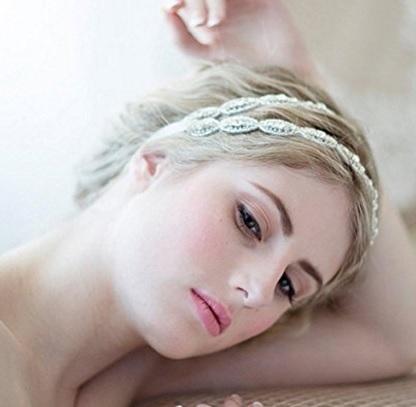 Accessori per capelli eleganti in cristallo