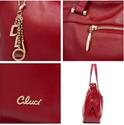 Borsa Elegante Dal Colore Rosso Scuro Per Donna