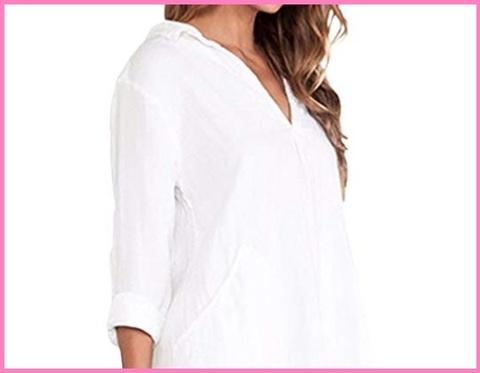 Abbigliamento Elegante Taglie Forti Camicia