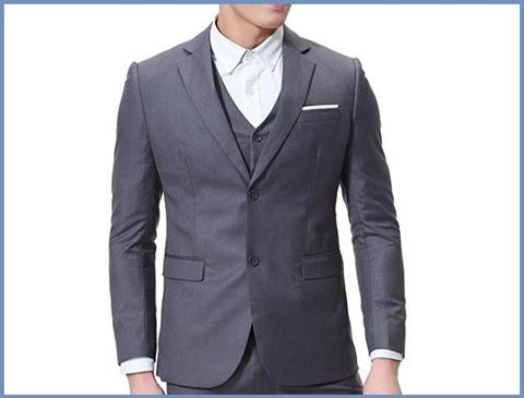 Abbigliamento Elegante Uomo 3 Pezzi