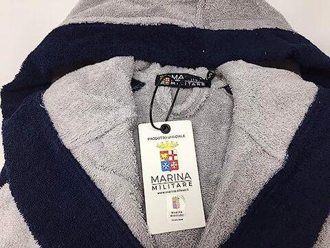 Accappatoio Marina Militare Da Uomo