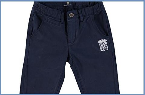Pantaloni Marina Militare Con Logo