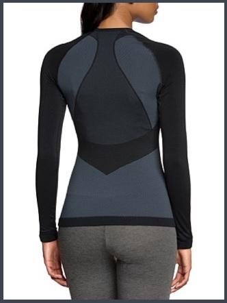 Abbigliamento fitness termico e aderente