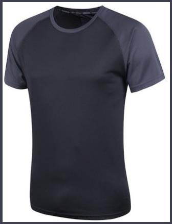 Maglietta In Cotone Termica Per Uomo