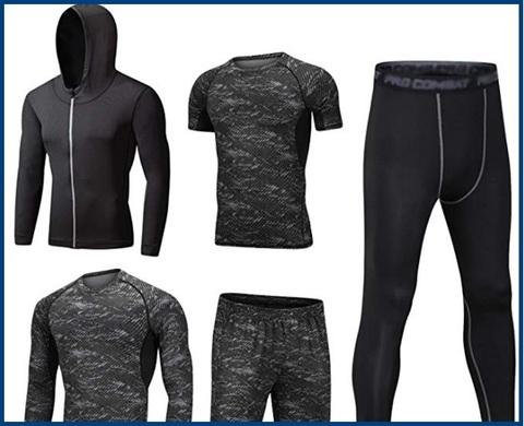 Abbigliamento termico calcio uomo