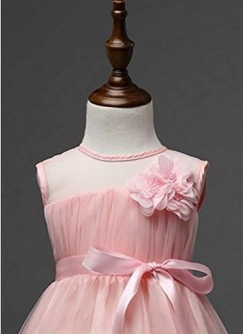 Vestito Da Cerimonia Floreale Per Bimba