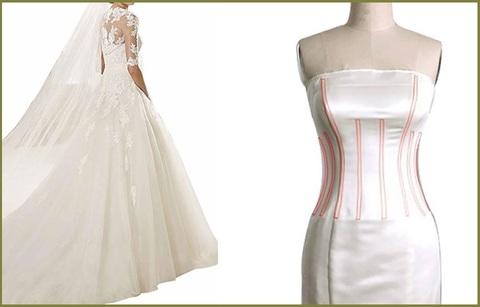 Vestito da sposa classico da principessa